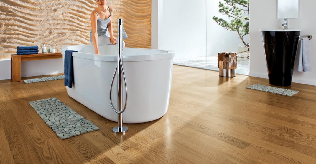 Holz Im Badezimmer Wohnnet At